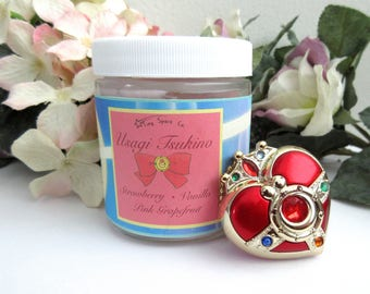 Sailor Moon Usagi Tsukino 100% Soy Wax Candle