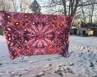 Ice Dye Tapestry, Queen Size
