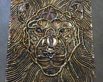 Animal Kingdom Metal Canvassing Art TIG Welded