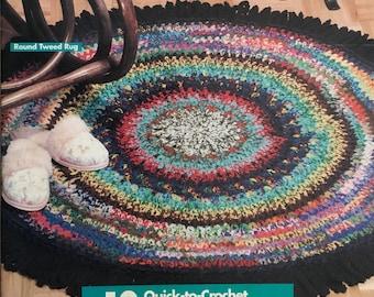 PDF 10 Crochet Scrap Yarn Rugs