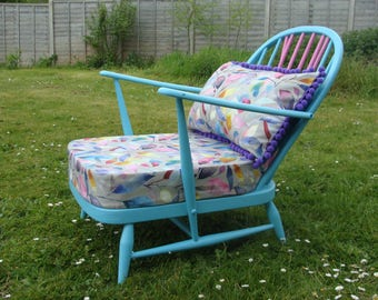 Beautiful Painted Ercol Armchair