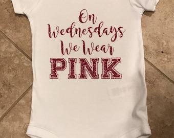 Baby girls shirt- Mean girls onesie