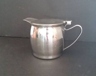 Vintage Japan  Don  & Brandware Commercial 18-08 Stainless Steel Insulated Tea Pots Three total