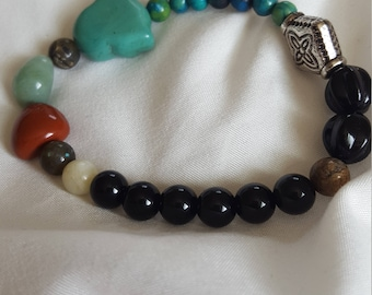 Earth bound bracelet