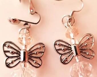 Handmade Butterfly Earrings