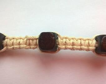 Natural Surfer Beaded Bracelet