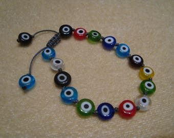 Evil eye bracelet,Greek jewerly,Greek evil eye, bracelet,Friendship bracelet,Greek mati, women bracelet,Girls bracelet.,hematite,evil eye