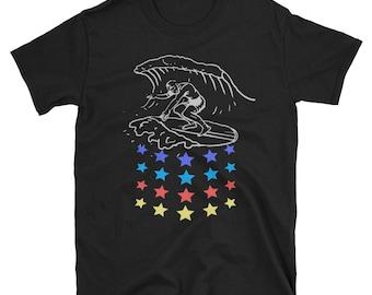 vintage surf shirt, Surf shirt, beach shirt, surfing shirt, surfer shirt, surf tshirt, surf clothing, vintage shirt, hipster shirt, travel s