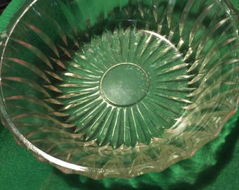 Vintage Hoosier Glass Bowl  4057