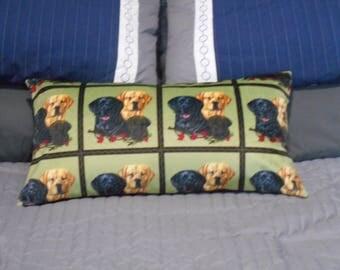 Labrador retriever decorative throw pillow
