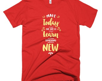 Today Learn New Short-Sleeve T-Shirt
