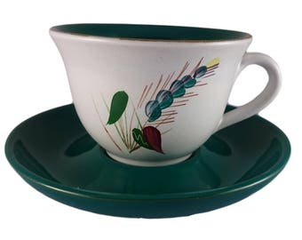 Greenwheat by Denby Cup & Saucer Duo