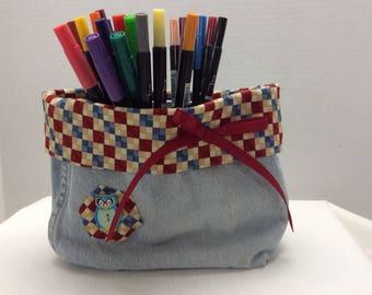 Denim Fabric Bag