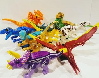 DINOSAUR Mega LEGO Dc comics Minifigure Toy  Popular Characters for Boys Girls Gift Collectors Item Favor Marvel DC Superhero Princess