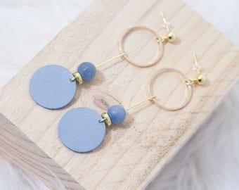 """""""Delicate"""" Creole hoop earrings"""