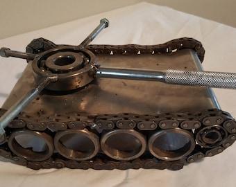 Metal Art Tank
