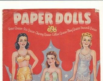 Vintage Forties Paper Dolls