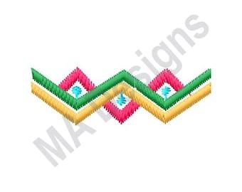 Southwest Decoration - Machine Embroidery Design, Decoration, Border, Southwest