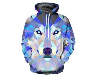 Wolf Hoodie, Wolf, Wolf Hoodies, Animal Prints, Animal Hoodie, Animal Hoodies, Wolves, Hoodie Wolf, Hoodie, 3d Hoodie, 3d Hoodies - Style 34