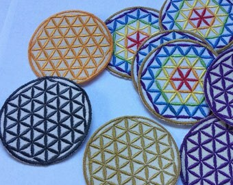 Flower of Life Patch (Iron On)