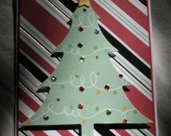 Sale - Christmas Tree Card