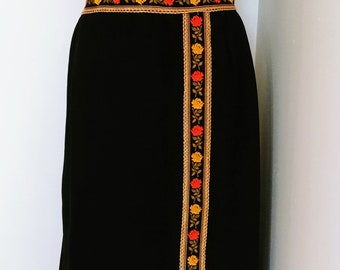1960s Sleeveless Maxi Dress, Sz L