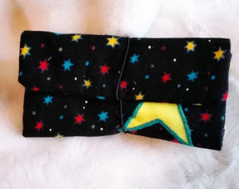 Tobacco case ,Starry fabric| Rolling Tobacco Pouch| Bolsa para Tabaco de liar | gifts for smokers, smoking accesories