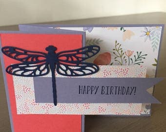 Dragon fly 3D card