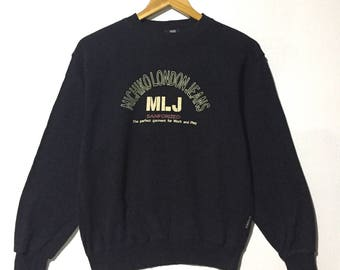 RARE!!! Vintage Sweatshirt Michiko London Jeans