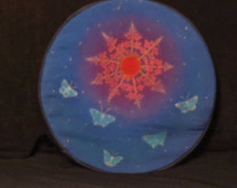 bag or cover for shamanic drum native of 42 to 43 cm