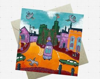 Canterbury Westgate Greetings Card