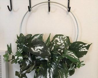 Metal hoop Wreath