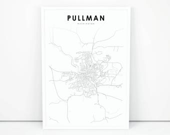 Printable map Etsy