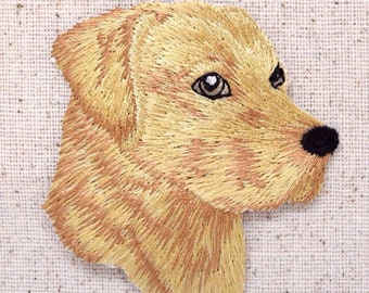 Yellow Labrador Retriever Patch