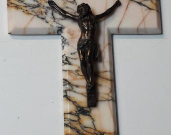 Ancient corpus, Jesus Christ with marble Cross