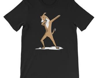 Cute Dabbing Italian Greyhound T-Shirt Funny Dog Gift