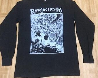 90' Revolution 96 punk gig tee long sleeve