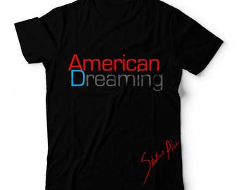NEW American Dreaming T-Shirt Red Cotton Blend With Soft & Smooth Feel