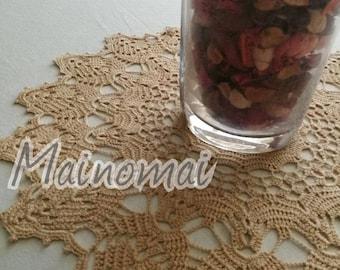 Medium centerpiece handmade crochet