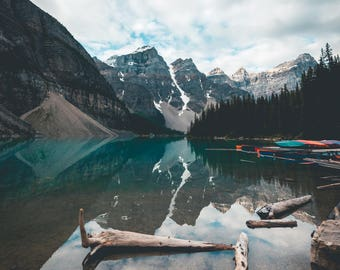 Moraine Lake Kayaks in Banff National Park, Alberta