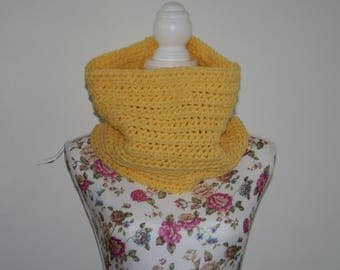 Snood / cowl hand crocheted.