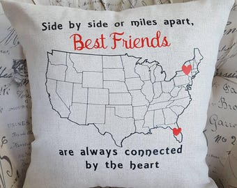 United states pillow Etsy