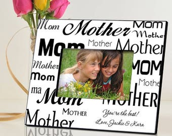 Personalized Mom-Mother Frame - Mother's Day Gifts - Mom Photo Frames - Mother Photo Frame - Mom Picture Frames - Personalized Mother Frames