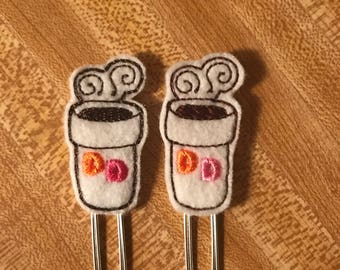 Dunkin Donuts Coffee Clips