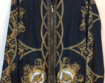 Classic Versace medusa baroque reversable 2 sides jacket