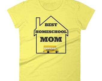 Homeschool Mom Shirt Women's short sleeve t-shirt