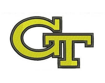 Georgia Tech Yellow Jackets 2 - NCAA embroidery design logo / embroidery designs / INSTANT download machine embroidery pattern