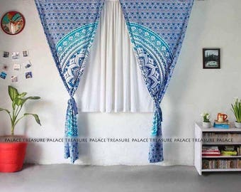 Mandala Curtains Boho - Cosmo Star Small