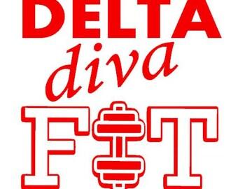 Divine 9 Diva Fit SVG