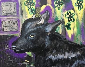 Discordance ~ Original Multimedia Artwork on Canvas